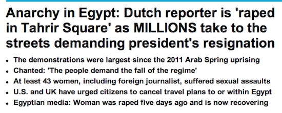 Tahrir Rape - Dutch Girl Gang Raped