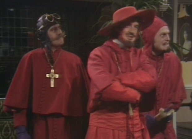 Nobody expects the Spanish in inquisition