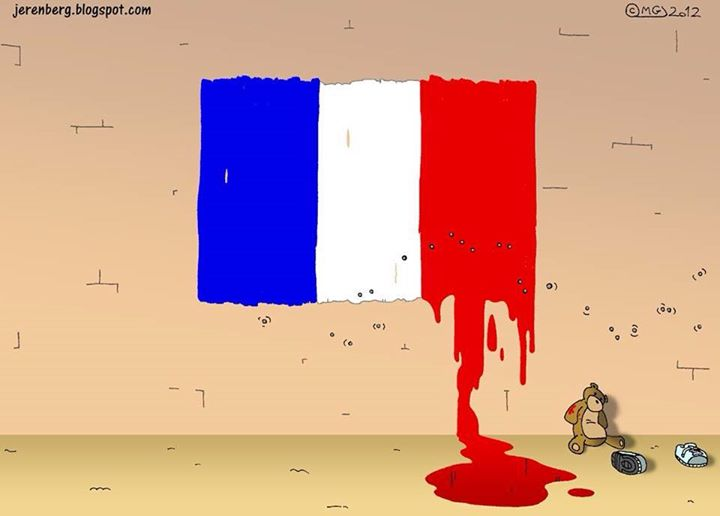 France's bloody Night